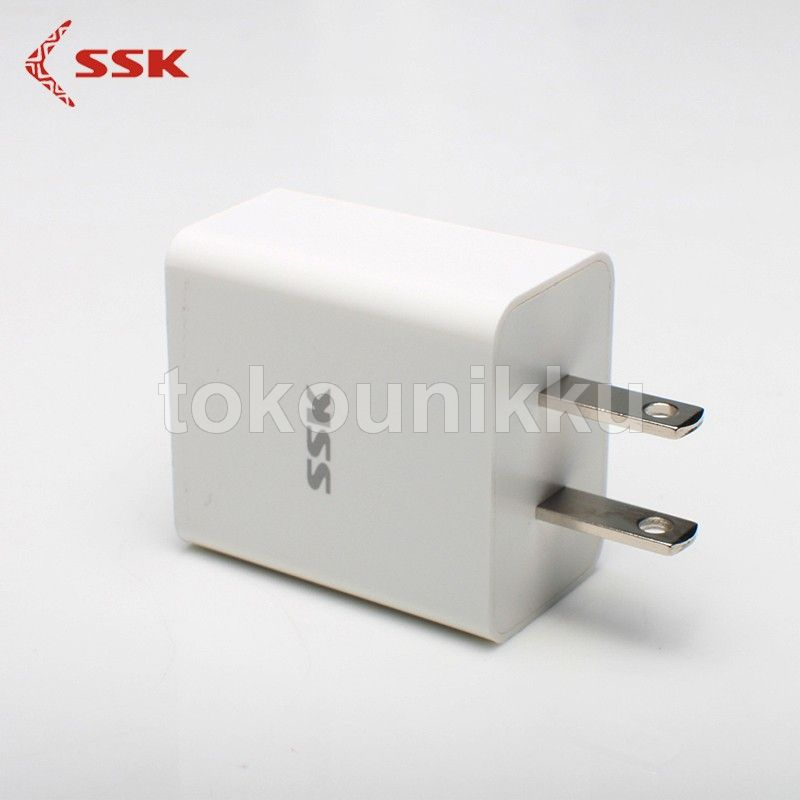 Wall Charger USB SSK (2 port) 2,4A type SSK SDC-020