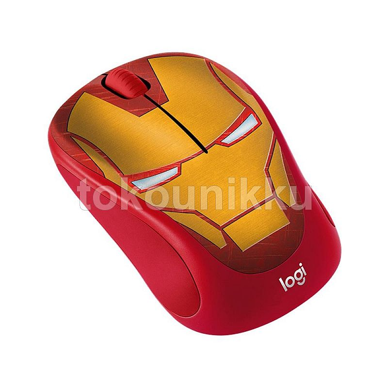LOGITECH Mouse M238 Marvel Collection Wireless Mouse Iron Man