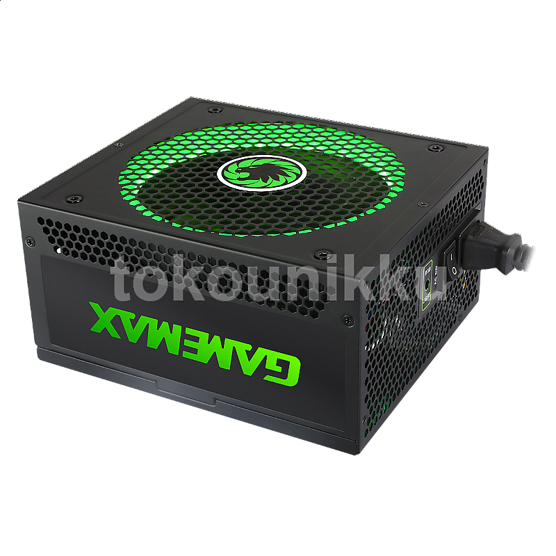 Gamemax Power Supply GM 850 RGB - 850W, 80+, Gold