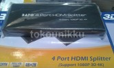 BAFO Splitter HDMI 1-4 ( Split 1 input HDMI to 4 output HDMI) (ORIGINAL)