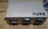 VGA Splitter 1-4port  (1 Input 4 Output VGA) Bafo (ORIGINAL)