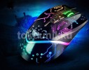 Mouse Wired Gaming AULA TIAN JI (SI-9010)