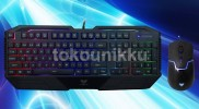 Keyboard + Mouse Wired Gaming AULA COMBO ALTAR RIGEL (SI-2023+9013)