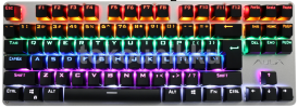 Keyboard TKL Mechanical Wired AULA Li AK-2012 Gaming - Green Switch - Rainbow LED  (TKL Mechanical)