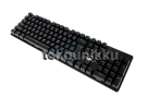 Full Mechanical Wired AULA 2010S Black Gaming Keyboard - Blue Switch - Rainbow LED Light